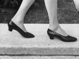 View of a New Type of Woman's Shoe