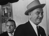 President Lyndon B Johnson During 6 State Poverty Tour