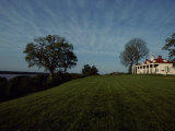 A View of Mount Vernon  the Home of President George Washington