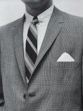 Model Wearing Proper Fashion Suit