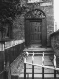 Once Elegant Doorway of Slum Building on the Circular Road  Dublin