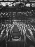 Volkswagen Plant Assembly Line of Car Frames