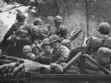 US Trainees at Fort Polk  Undergoing Vietnam Oriented Training  Where They Are About to Be Ambushed