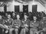 US Army Draftees During Basic Training