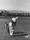 President Dwight D Eisenhower Playing Golf