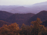 Autumn in the Blue Ridge Mountains  Virginia