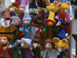 A Colorful Display of Finger Puppets