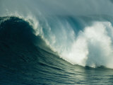 A Powerful Wave  or Jaws  off the North Shore of Maui Island