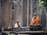 Offerings Made to Buddha at Angkor Wat