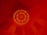 A Skyward View of a Chandelier