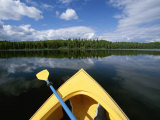 Kayakers View from Boat at Nancy Lake State Recreation Area