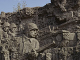 Relief Sculpture Commemorating the World War Ii Battle of Stalingrad