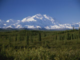 View of the Tallest Mountain in North America  Mt Mckinley