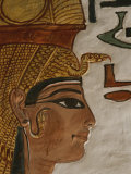 Nefertari Tomb Scenes (Detail)  Valley of the Queens  Egypt