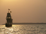 A Replica of the Maryland Dove  a 17th Century Sailing Ship