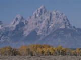 The Grand Teton Mountain  Grand Teton National Park  Wyoming