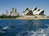 View of the Sydney Opera House and Sydney Harbor