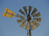 A Windmill on a Farm in the Outback