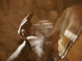Dogon Hands  Blurred by the Quick Movement of Playing the Drums