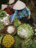Local Farmers Selling Their Crop at the Market
