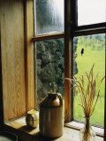 Windowsill of the Skogar Folk Museum in the Southern Part of Iceland