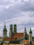 View of the Skyline of Old Town Munich