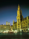 The Marienplatz at Night