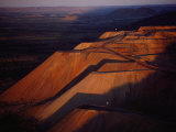 The Argyle Diamond Mine in the Eastern Kimberley  Western Australia  Opened in 1985