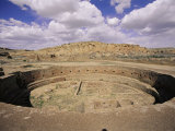Ruins of a Kiva at Mesa Verde National Park