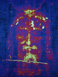This is a Computer-Enhanced Image of the Face on the Shroud of Turin
