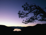 Twilight over Donner Lake