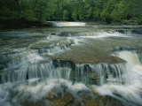 View of the Waterfalls in Tahquamenon Falls State Park