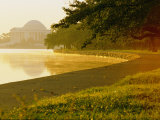 Hazy Shot of the Tidal Basin at Potomac Park