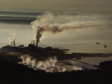 An Aerial View of a Pulp Mill