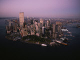 An Aerial View of Manhattan Island