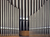Three Rows of Organ Pipes