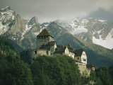 View of the Restored Vaduz Castle