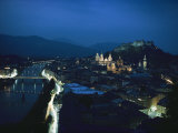 Salzburg  Austria  Night View