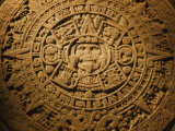 Close-up of the Center of the 20-Ton Aztec Sun Stone