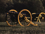 Civil War Cannon and Caisson  Manassas National Battlefield  Virginia