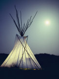 Illuminated Teepee