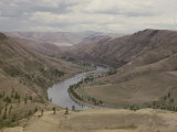 View of the Clearwater River Running Through the Nez Perce Reservation