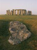 A View of Stonehenge in the Morning Light