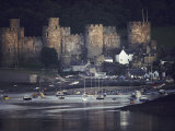 Massive  Eight-Towered Conwy Castle and its Walled Garrison Town