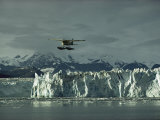 A Floatplane Traverses Columbia Glacier and Prince William Sound
