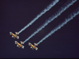 Three Bi-Planes of the Christian Eagle Performers in Formation