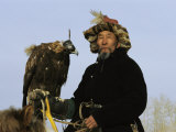 A Mongolian Eagle Hunter in Kazakhstan