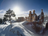 Winter View in Bryce Canyon National Park