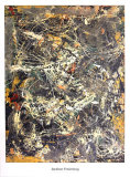 Untitled (1949) Reproduction d'art par Jackson Pollock