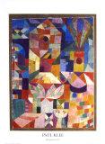 Vue du jardin Reproduction d'art par Paul Klee